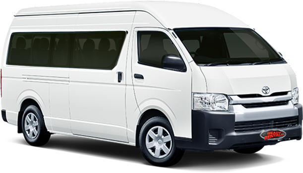12 Seater – Automatic Diesel